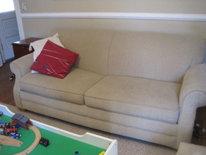 $100 Couch from Craigslist
