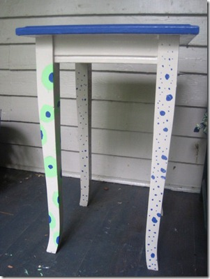Polka Dotted Table